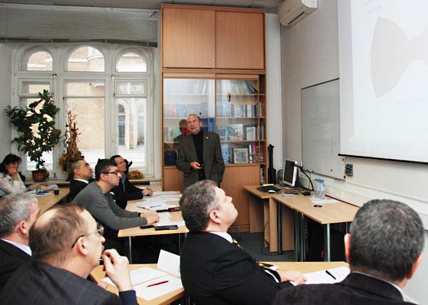 Слушатели спецкурса для руководителей ОПК представили проекты по развитию предприятий