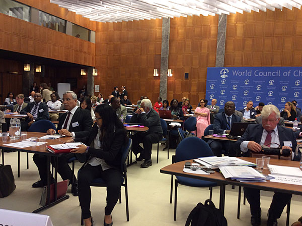На Международном форуме по глобальной этике Александр Агеев сделал доклад о Стандарте компетенций в сфере интегрированной отчетности